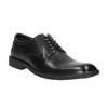 Čierne kožené poltopánky bata, čierna, 824-6743 - 13