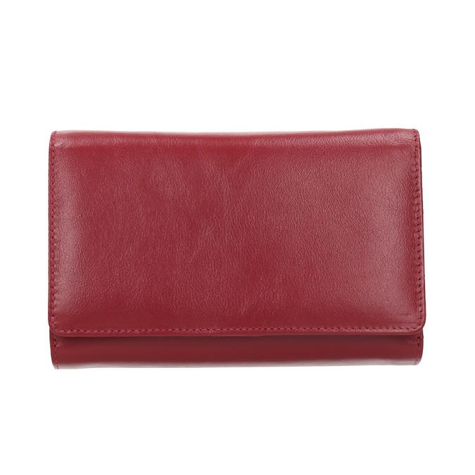 Kožená dámska peňaženka bata, červená, 944-5168 - 26