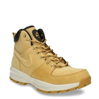 Kožená pánska členková obuv nike, žltá, 806-8435 - 13
