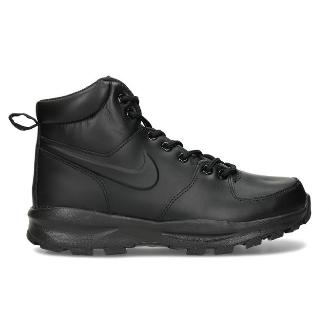 Kožená pánska členková obuv nike, čierna, 806-6435 - 19
