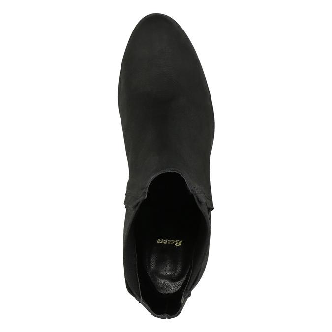 Dámska členková obuv na masivnom podpätku bata, čierna, 796-6634 - 19