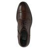 Kožená pánska obuv ku členkom bata, hnedá, 894-4671 - 19