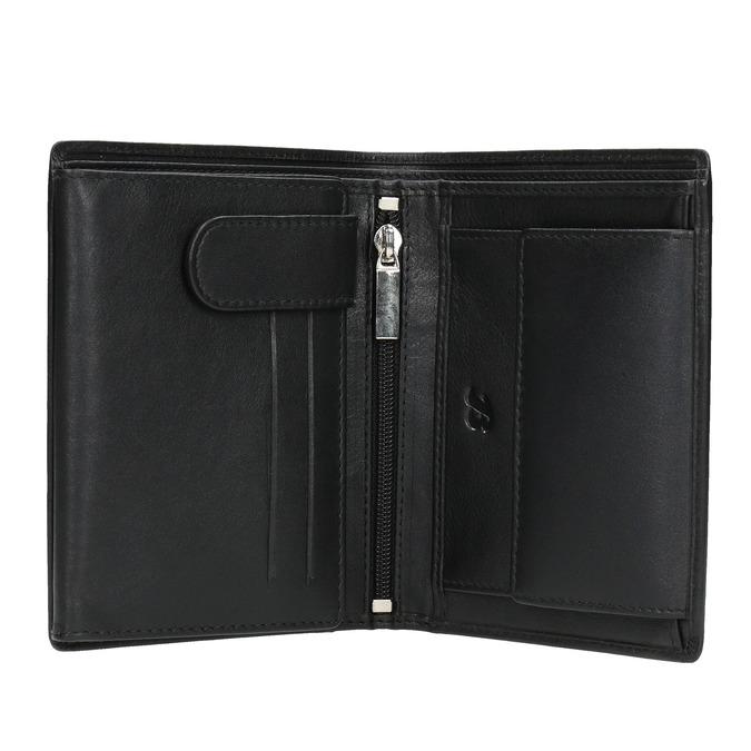 Kožená pánska peňaženka bata, čierna, 944-6169 - 15