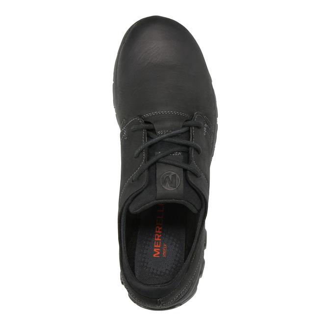 Kožené pánske tenisky merrell, čierna, 806-6846 - 19