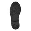 Dievčenské zateplené čižmy mini-b, čierna, 391-6653 - 26