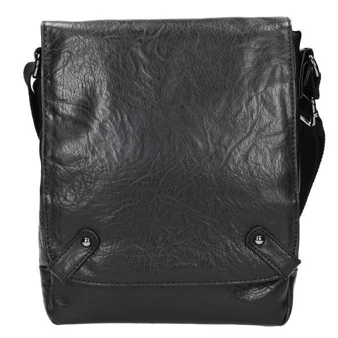 Pánska Crossbody taška bata, čierna, 961-6262 - 26
