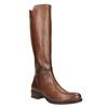 Dámske kožené čižmy bata, hnedá, 594-3586 - 13