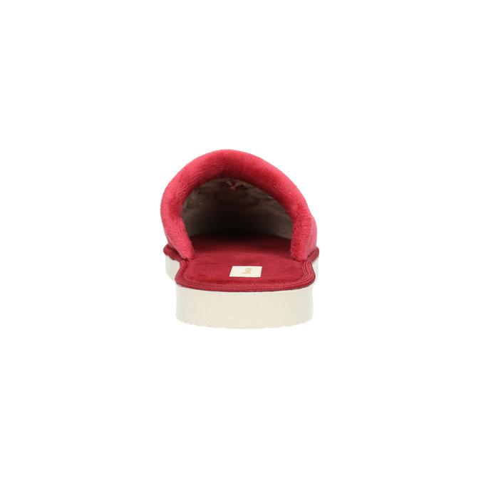 Domáca dámska obuv bata, červená, 579-5611 - 17