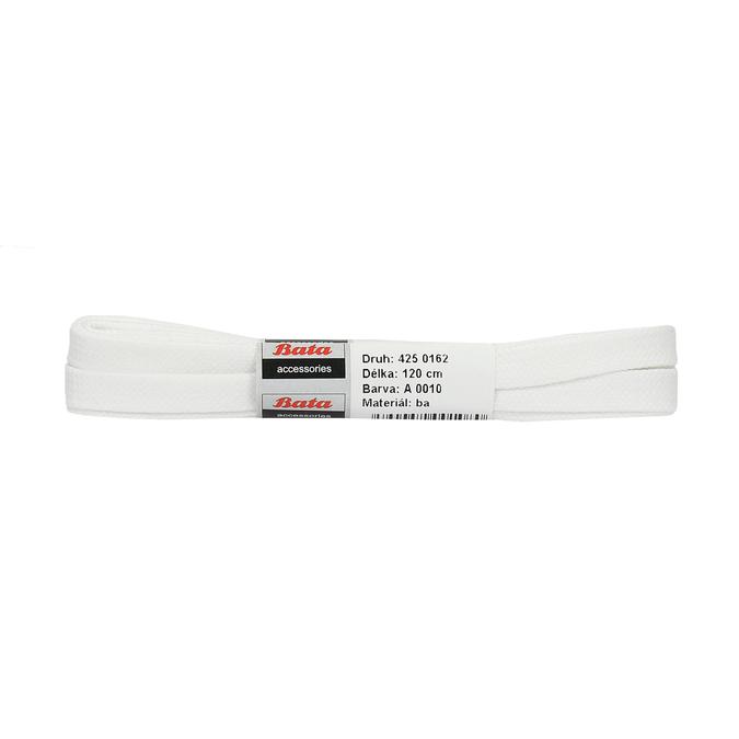 Biele šnúrky bata, biela, 901-1122 - 13