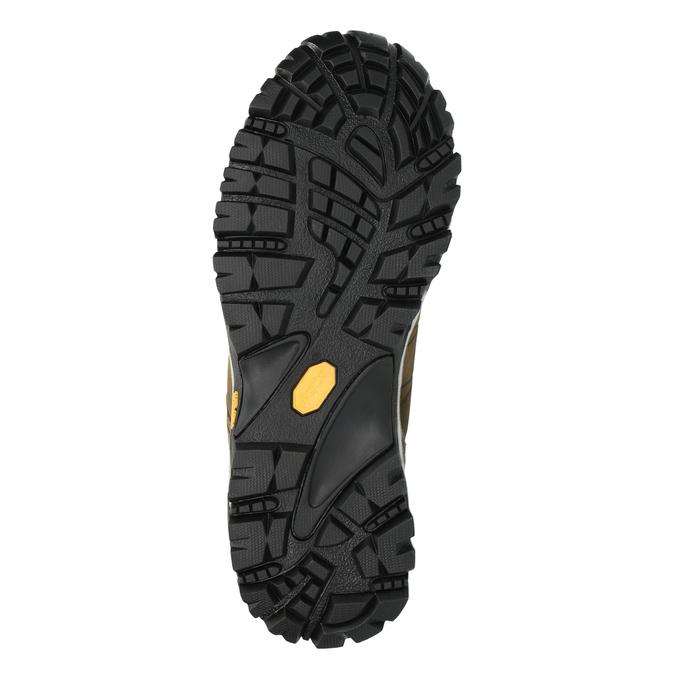 Pánska kožená Outdoor obuv weinbrenner, hnedá, 846-4600 - 26