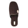 Pánska domáca obuv s plnou špicou bata, hnedá, 879-4609 - 19