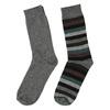 Pánske ponožky 2 páry bata, šedá, 919-2411 - 26