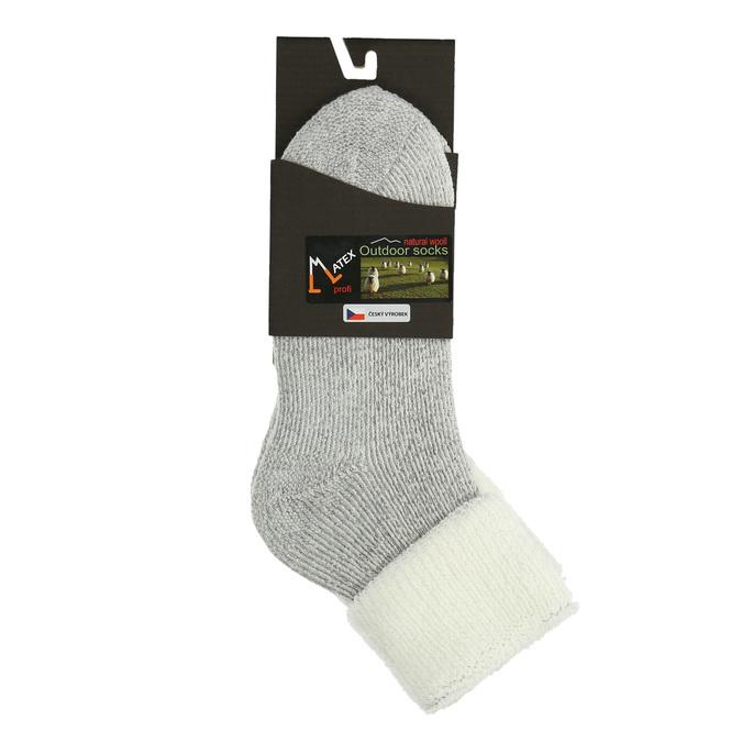 Dámske termo ponožky matex, biela, 919-1379 - 13