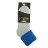 Dámske termo ponožky matex, modrá, šedá, 919-9381 - 13