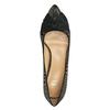 Lodičky s mašľou bata, čierna, zlatá, 629-8630 - 19