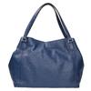 Modrá kožená kabelka bata, modrá, 964-9215 - 19