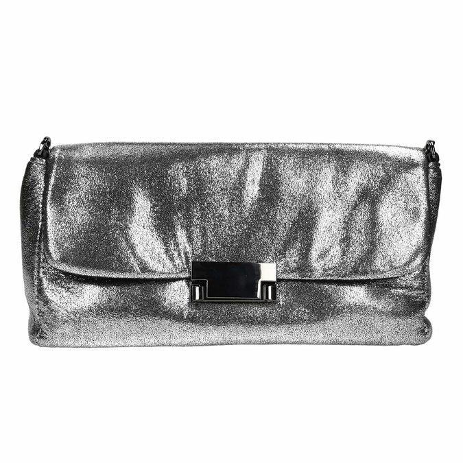 Dámska strieborná listová kabelka bata, strieborná, 969-1220 - 26