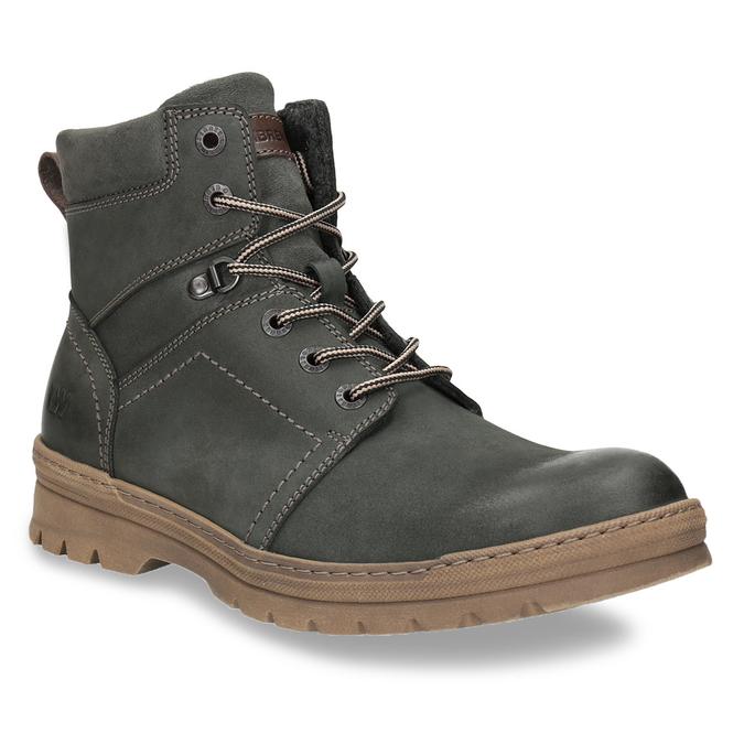 Pánska zimná obuv weinbrenner, šedá, 896-2109 - 13