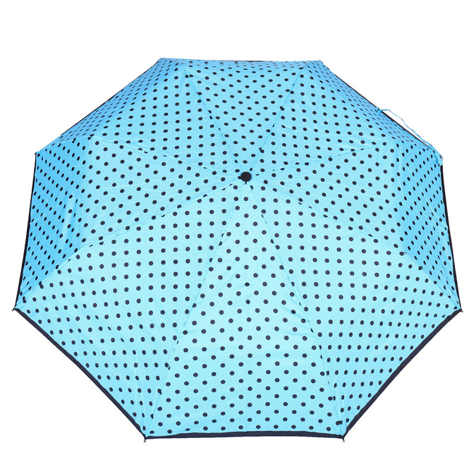 Modrý dáždnik s bodkami bata, modrá, 909-9601 - 26