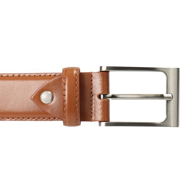 Hnedý pánsky kožený opasok bata, hnedá, 954-3153 - 26