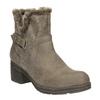 Dámske členkové čižmy bata, šedá, 699-2632 - 13