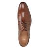 Pánske kožené poltopánky hnedé bata, hnedá, 826-3758 - 17