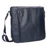 Pánska taška v štýle Crossbody bata, modrá, 961-9508 - 13