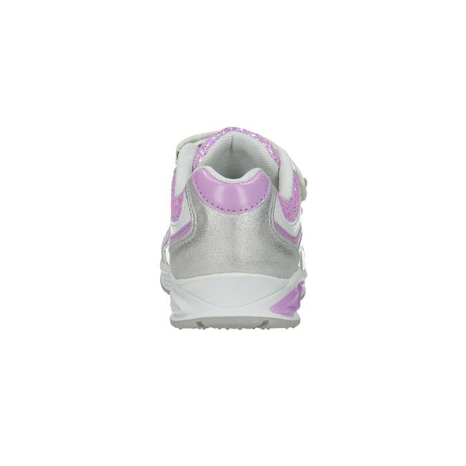 Detské tenisky s trblietkami mini-b, šedá, 221-2603 - 17