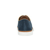 Ležérne kožené poltopánky bata, modrá, 843-9623 - 17