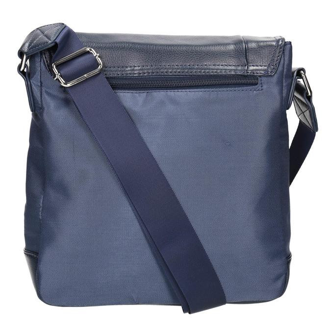 Pánska taška v štýle Crossbody bata, modrá, 961-9508 - 19