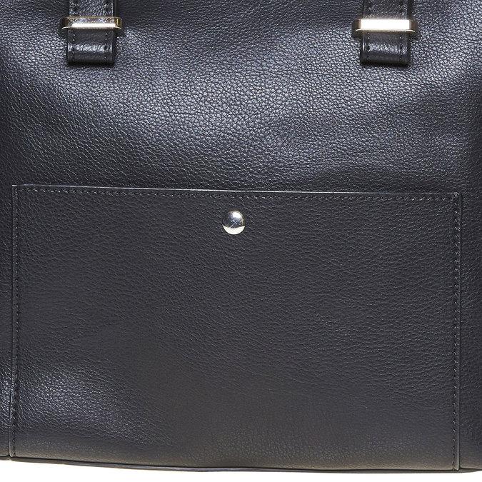 Elegantná dámska kabelka bata, čierna, 961-6278 - 17