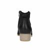 Kožené členkové čižmy čierne bata, čierna, 596-6633 - 17