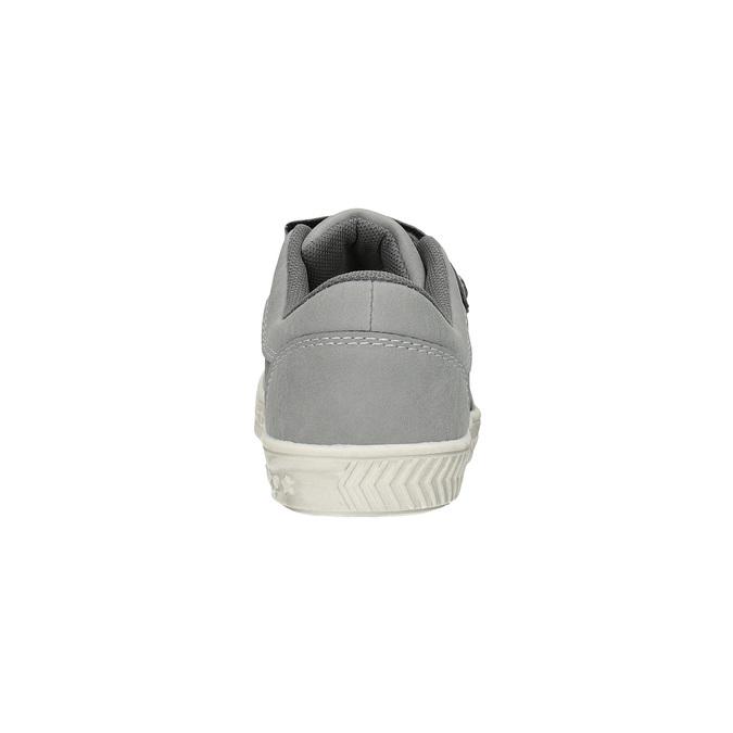 Detské tenisky na suchý zips mini-b, šedá, 411-2604 - 17