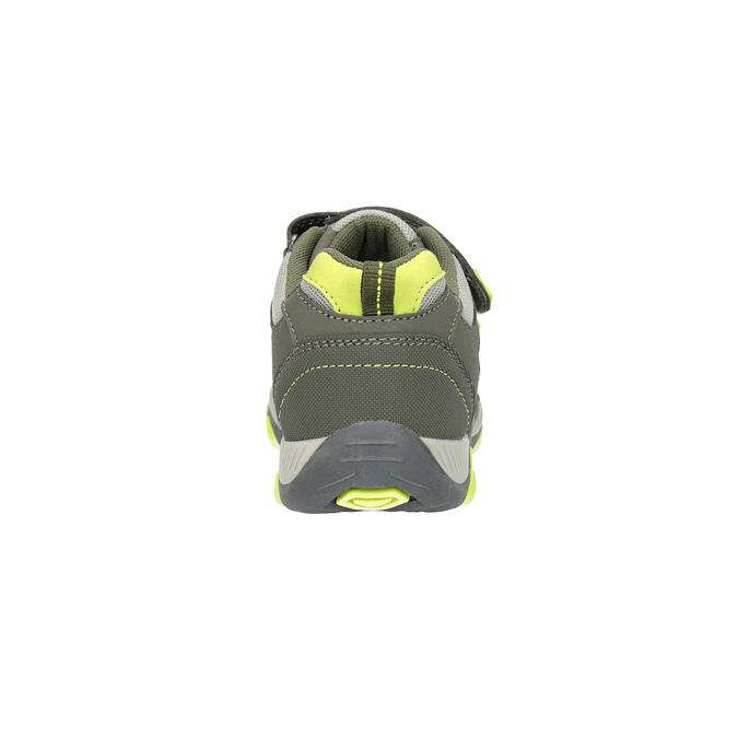 Športové detské tenisky mini-b, zelená, 411-7605 - 17