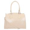 Dámska kabelka s pevnými rúčkami bata, béžová, 961-8740 - 19