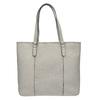 Dámska kabelka s perforovaným detailom bata, šedá, 961-2711 - 26