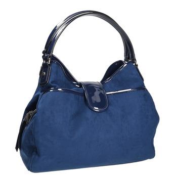 Modrá dámska kabelka bata, modrá, 969-9280 - 13