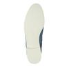 Kožená obuv nad členky bata, modrá, 593-9602 - 26