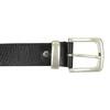 Pánsky kožený opasok bata, čierna, 954-6162 - 26