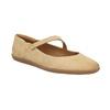 Dámske kožené baleríny bata, béžová, 526-8620 - 13