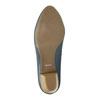 Lodičky na stabilnom podpätku pillow-padding, modrá, 626-9637 - 26