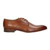 Pánske kožené poltopánky bata, hnedá, 826-3836 - 15