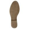 Kožené členkové čižmy bata, hnedá, 596-4653 - 26