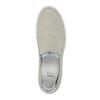 Dámska kožená Slip-on obuv bata, šedá, 516-2600 - 19