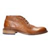 Celokožená členková obuv bata, hnedá, 826-3909 - 15