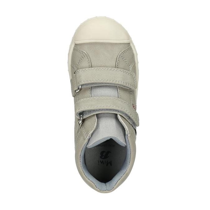 Detské členkové tenisky mini-b, šedá, 211-2606 - 19