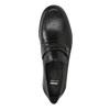 Kožená pánska Loafers obuv bata, čierna, 814-6621 - 19