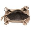 Kabelka s pletenými rúčkami gabor-bags, béžová, 961-5077 - 15