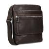 Kožená taška Crossbody bata, hnedá, 964-4237 - 13