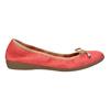 Červené baleríny s pružným lemom bata, červená, 526-5617 - 15